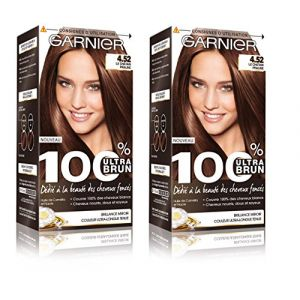 Garnier 100% ultra brun 4.52 le châtain praline - Coloration permanente