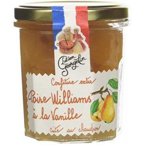 Lucien georgelin Confiture Extra de Poire Williams à la Vanille 350g - Pack de 6