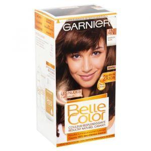 Garnier Belle Color - Coloration 4N Marron Nude - Lot de 2
