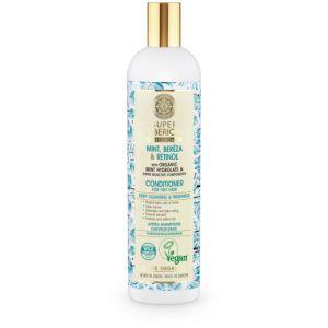 Super Siberica Après-shampooing Mint, Berëza & Retinol (Cheveux Gras) - 400 ml