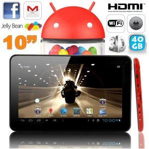 "Image de Yonis Y-tt11g40 - Tablette tactile 10"" sous Android 4.2 (8 Go interne + Micro SD 32 Go)"