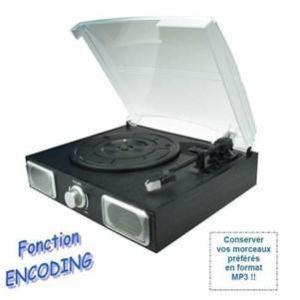 Inovalley TD11 - Platine vinyle disque numérique USB