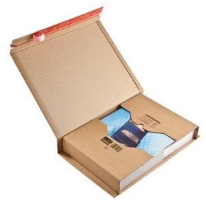 Mailmedia CP 020.18 - Carton d'expédition ColomPac, dim. 455 x 320 x -70 mm intérieur