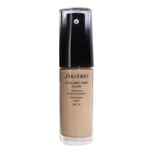 Shiseido Synchro Skin Glow Rose 4 - Teint fluide éclat SPF 20