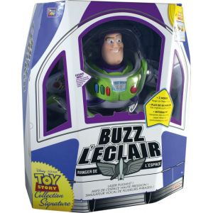 Lansay Figurine Toy Story Collection Signature Buzz l'Eclair 30 cm