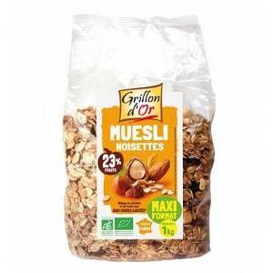 Grillon d'Or Muesli familial noisette