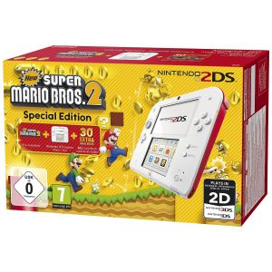 Nintendo 2DS Mario Pack - La console + New Super Mario Bros. 2