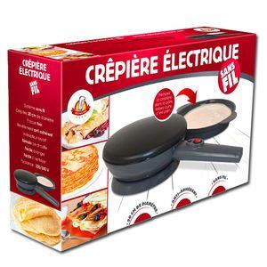 Venteo Crépière électrique sans fil