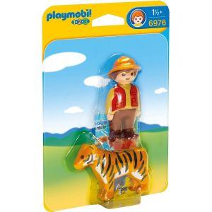 Playmobil 6976 - Garde forestier avec tigre 1.2.3.