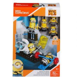 Mega Bloks Pack de construction Mega Construx Moi Moche et Méchant 3 : Les minions évasion de la prison