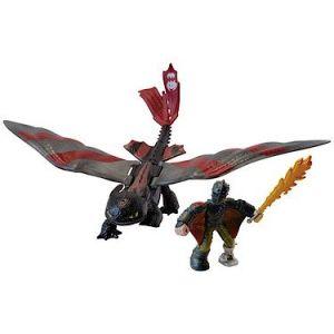 Spin Master Dragon et son Dresseur Harold avec son Epée & Krokmou