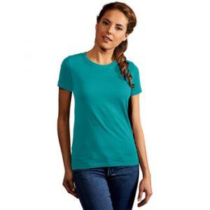 Promodoro T-shirt Premium Femmes, XS, vert jade