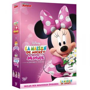 Coffret La Maison de Mickey - Minnie : J'aime Minnie + Le conte de fées de Minnie + La collection hiver de Minnie