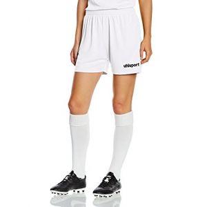 Uhlsport Basic Short Femme Blanc FR : XXL (Taille Fabricant : XXL)