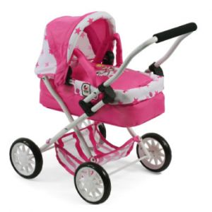 Bayer Chic 2000 Poussette poupée Mini SMARTY poney princesse rose/rose vif
