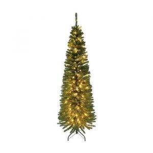 Sapin de Noël lumineux en PVC Luxe cypres 150 cm