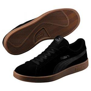 Puma Smash v2, Sneakers Basses mixte adulte - Noir Black Black), 40 EU