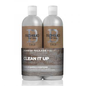 Tigi Shampoing et après-shampoing Bed Head pour homme Clean Up Duo