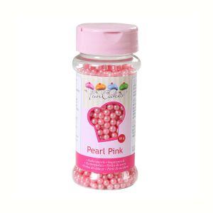 FunCakes Perles de sucre - rose nacré - 80g