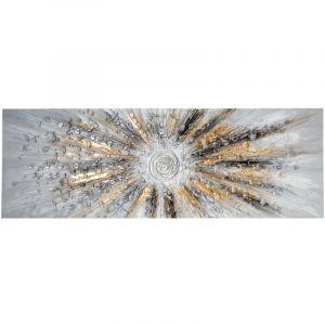 Atmosphera Toile Peinture en relief Soleil 150 x 50 cm