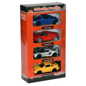 EZ Drive Coffret de 4 voitures de collection