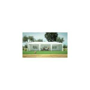 Alice's Garden Massilia - Tente/Barnum de réception en acier et toile polyester 3 x 9 x 2,60 m