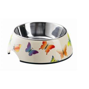Hunter Écuelle pour Chien & Chat Mélaminé Papillons 350 ml
