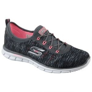 Skechers Glider Deep Space, Sneakers Basses Femme, Gris (Cccl), 36 EU