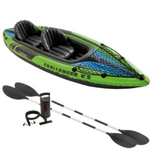 Intex Challenger K2 - Kayak gonflable 2 places