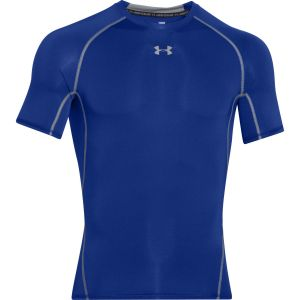 Under Armour T-shirt UA HG ARMOUR SS COMPRESSION bleu - Taille XXL,XL