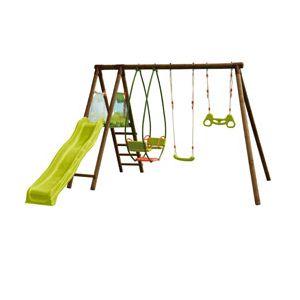aire de jeux en bois comparer 984 offres. Black Bedroom Furniture Sets. Home Design Ideas