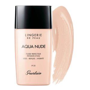 Guerlain Lingerie de Peau Aqua Nude 01N Très Clair - Fluide perfecteur infusion d'eau IP 20