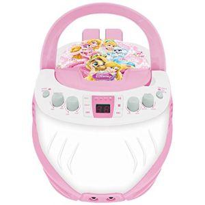 Lexibook K7000DP - Lecteur CD avec karaoké Disney Princesses