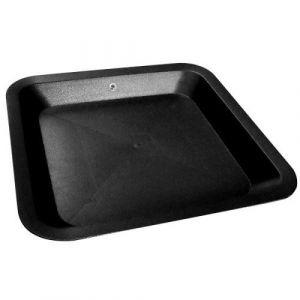 Nuova Pasquini & Bini Coupelle Carree noir 14.7x 14.7 cm x 100pcs pour pot carré