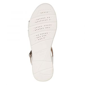 Geox D Sandal Hiver B, Femme, Blanc, 41 EU