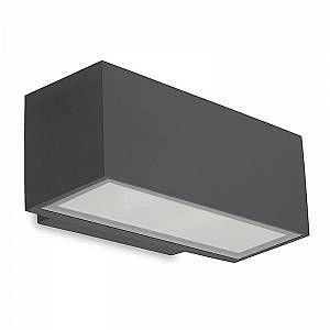 Image de Led C4 leds c4 Applique Led 11,5W Afrodita, aluminium et verre, gris urbain
