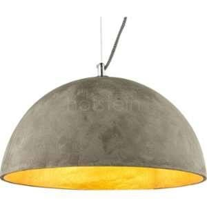 Globo Lighting Suspension en nickel mat 120x34,5x34,5 cm Gris - Suspension nickel mat - Béton - A:345 - H:1200 - Ampoule non incluse 1xE27 40W 230V