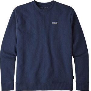 Patagonia P-6 Label Uprisal Crew Sweatshirt - Pull taille S, bleu/noir