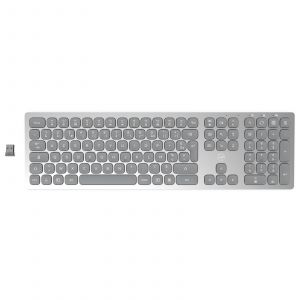 The Mobility Lab Mobility Lab Premium Wireless Slim Keyboard (Gris Clair)