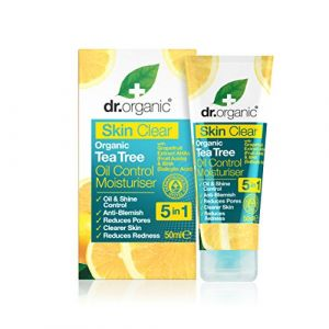 Dr. Organic Soin hydratant à l'huile de Tea Tree Bio