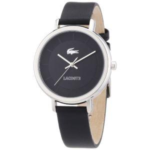 Lacoste 2000717 - Montre pour femme avec bracelet en cuir Nice