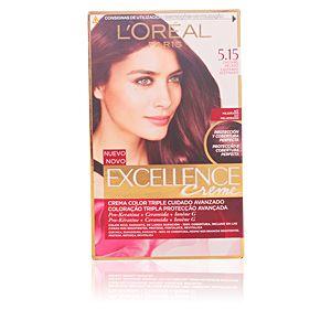 L'Oréal Excellence 5.15 Châtain Glacé - Crème colorante triple protection