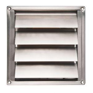 Renson Grille inox en applique pour hotte ARGENTA VENTILATION - 150 15.8 m³/h