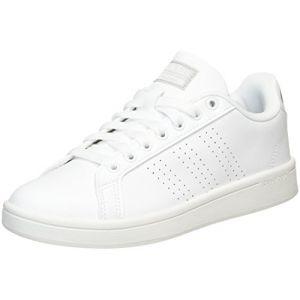 Adidas Cloudfoam Advantage, Sneakers Basses Femme, Blanc