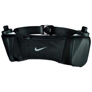 Nike Porte bidons -accessories Double Pocket Belt 20oz 2 - Black - Taille One Size