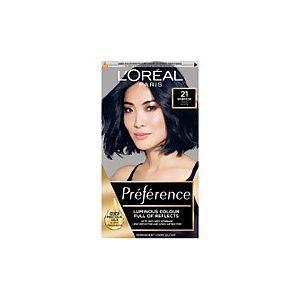 L'Oréal Preference Starry Night Blue Black 21