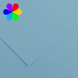 Canson 200040797 - Feuille Iris Vivaldi A4 240g/m², coloris bleu ciel 20