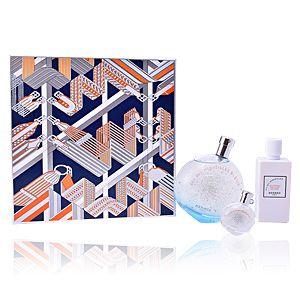 Hermès Eau des Merveilles Bleue - Coffret eau de toilette, lait pour le corps et miniature