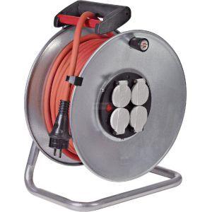 Brennenstuhl Enrouleur Silver câble 33m H07RN-F 3G2.5 : 1207961