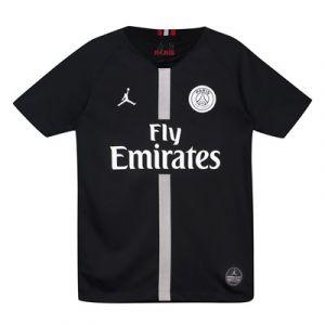 Nike Maillot de football 2018/19 Paris Saint-Germain Stadium Third pour Enfant plus âgé - Noir - Taille M